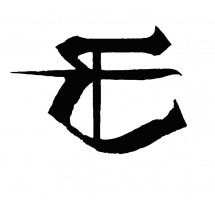 Enslaved logo element in black