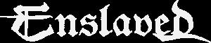 Enslaved white logo